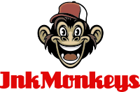 InkMonkeys – Where Design and Print Come to Life Logo